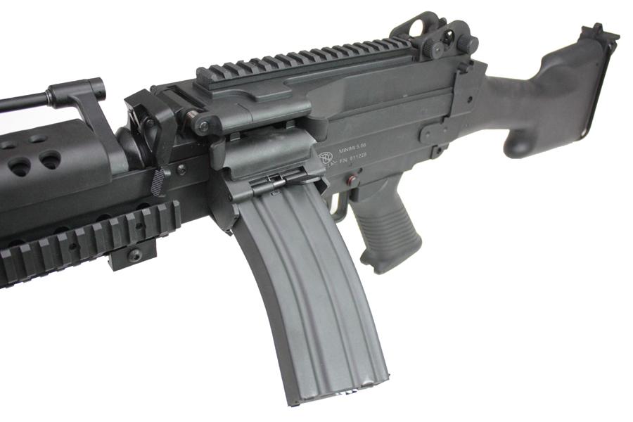 ※入荷しました!! S&T M249 E2 スポーツライン電動ガン BK【180日間安心保証つき】