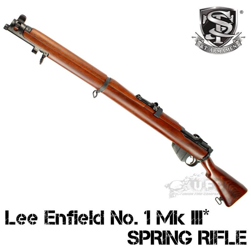 【2次ロット入荷予約】S&T Lee Enfield No. 1 Mk III* エアーコッキングライフル リアルウッド【180日間安心保証つき】