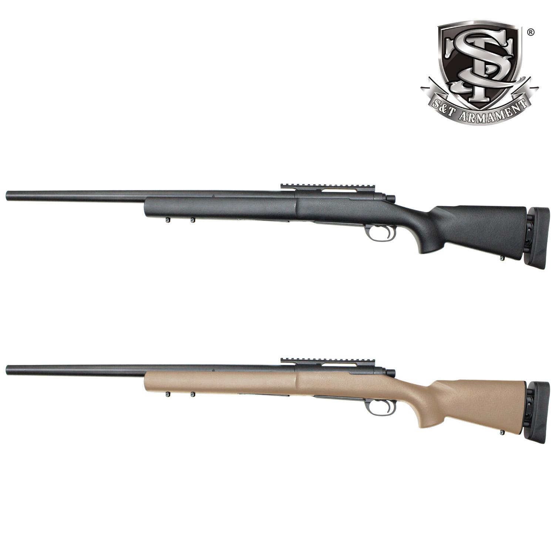【9月入荷予約特価】S&T M24 SWS スポーツライン エアーコッキング ライフル TAN