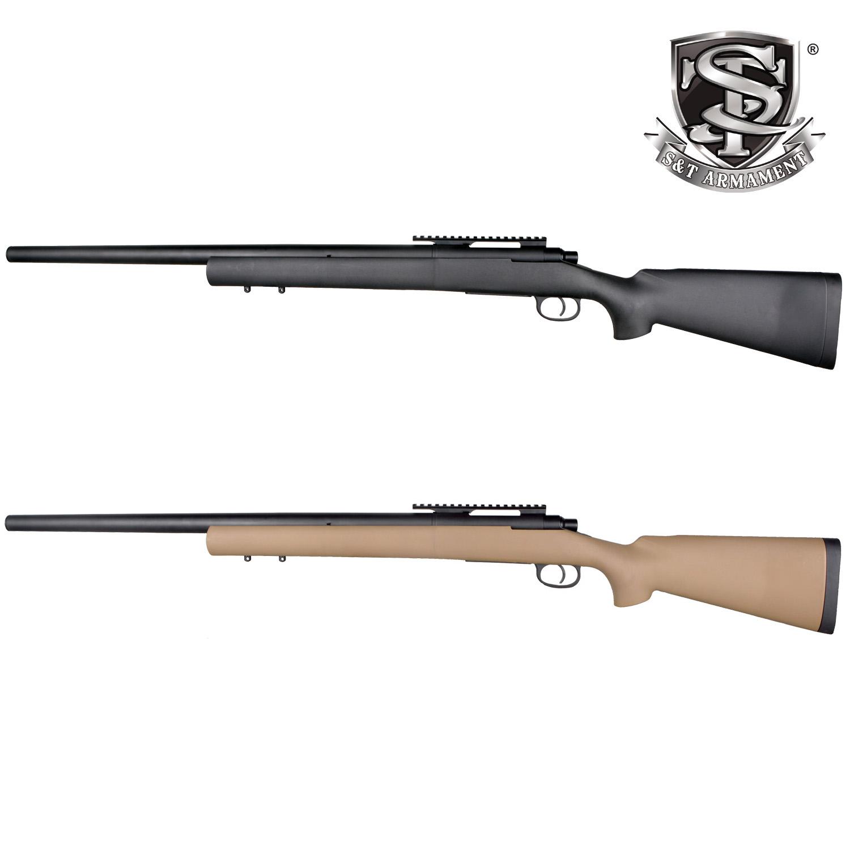 S&T M700 スポーツライン エアーコッキング ライフル TAN