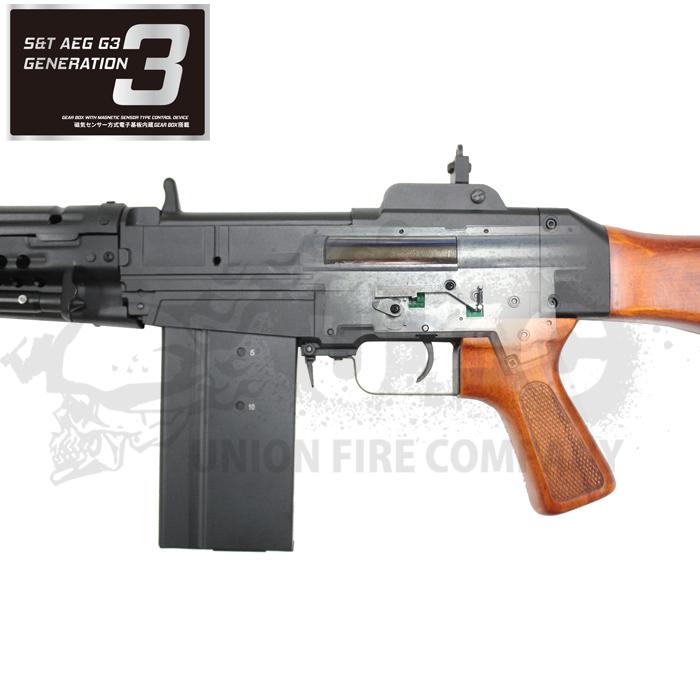 S&T 64式小銃 G3電動ガン(電子トリガーシステム搭載) 「180日間安心保証つき」
