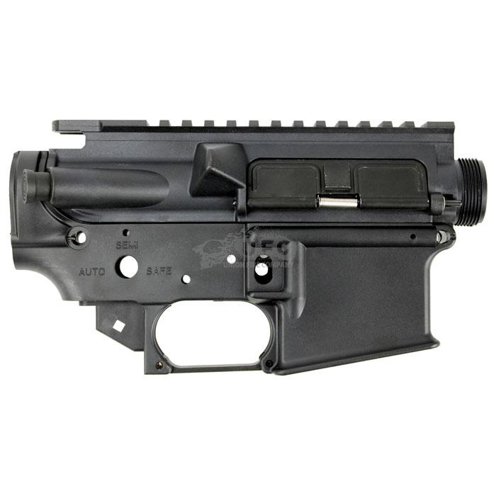 S&T M4 GBB用 ナイロンフレーム BK ≪無刻印≫
