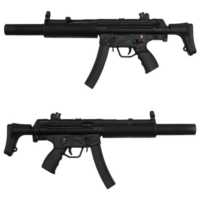 SRC MP5SD3 CO2GBB ≪JASG認定≫