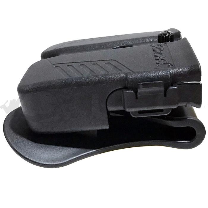 9mm/.40/.45対応 ダブルマガジンポーチ