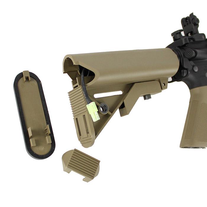 S&T M4 CQB-R フルメタル G3電動ガン BK ≪電子トリガー搭載モデル≫