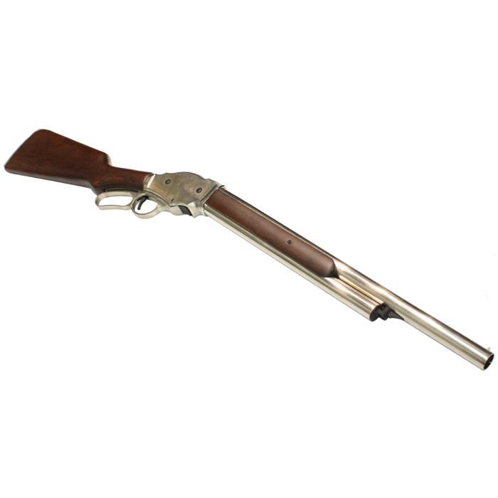 S&T ウィンチェスター M1887 レバーアクション ガスショットガン リアルウッド SV ≪6mm 排莢式≫
