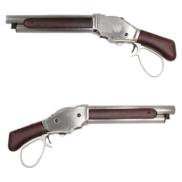 S&T ウィンチェスター M1887 ワイルドカード ガスショットガン リアルウッド SV ワイドレバー ≪6mm 排莢式≫