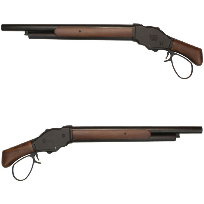 S&T ウィンチェスター M1887 ソウドオフ リアルウッド BK ワイドレバー ≪6mm 排莢式≫