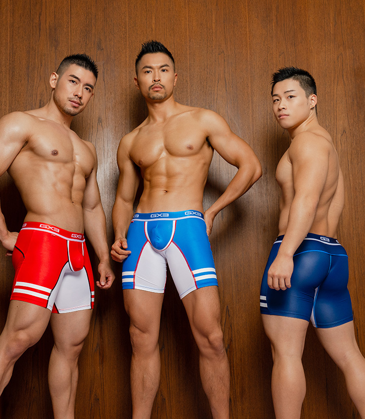 3PACK GX3 GROOVE LONG BOXER
