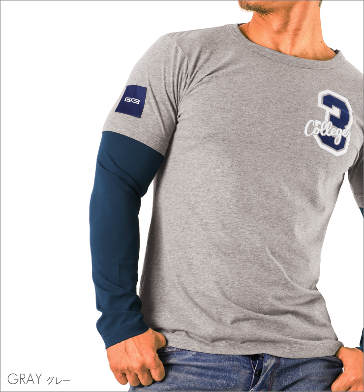 WEAR IVY LEAGUE カレッジ ロングTシャツ