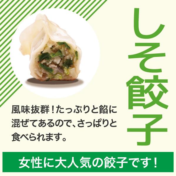 3色餃子セット(15個)