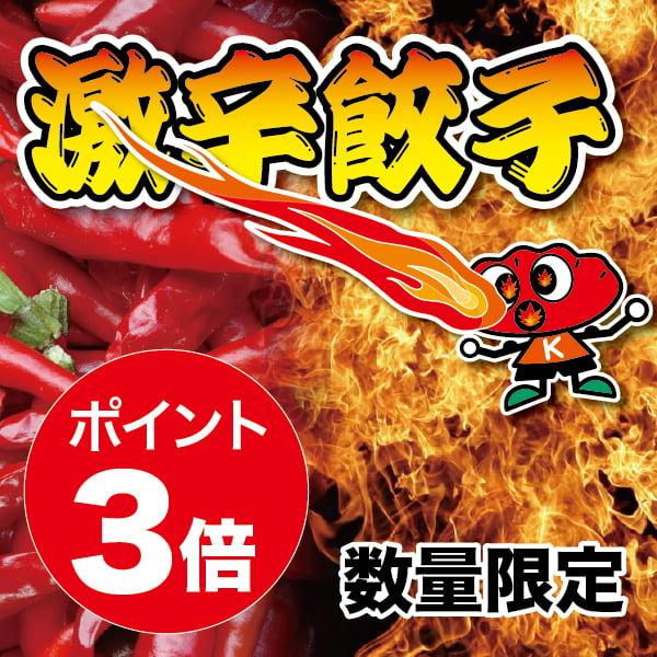 激辛餃子(15個入) 限定品 ポイント3倍