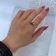 イギリス アンティークガードリング ノットパターン