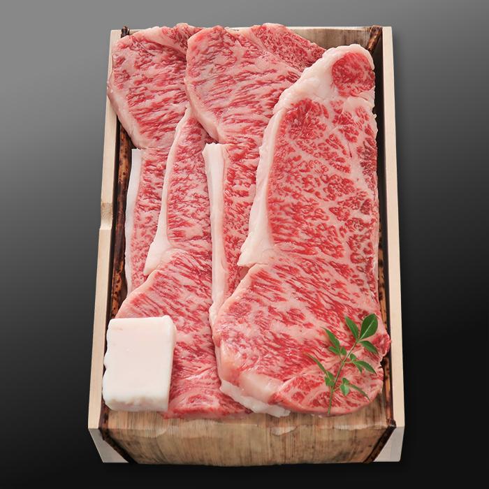 松阪牛サーロインステーキ【特選A5 1.0kg(250g×4枚)】