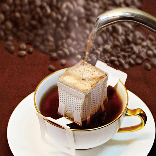 コーヒー&羊羹セット(ドリップバッグコーヒー5袋&はちみつ珈琲羊羹200g)