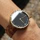 「CONNIE Simple Watch 38mm」シンプルデザインに個性が光るおしゃれなコルクレザー腕時計/メンズ/レディース/名入れ可能