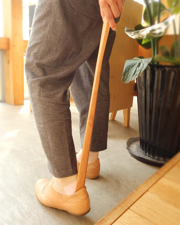 「Shoehorn Sサイズ」木製靴べら【60cm】