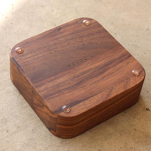 【生産終了】「BLOCK AccessoryTray」アクセサリーを美しく収納。取り出しやすいデザインの木製トレイ・ケース/Hacoaブランド
