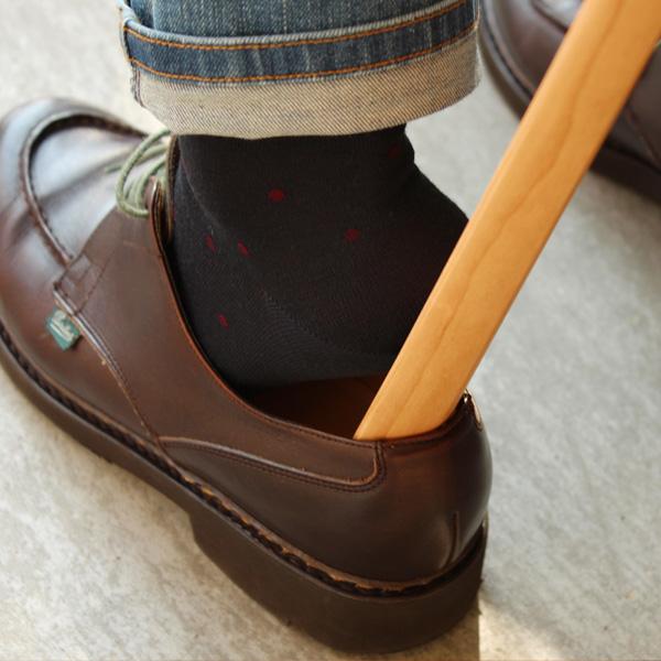 【送料無料】「Shoehorn Lサイズ」木製靴べら【80cm】