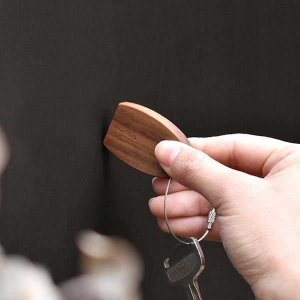 【ハローキティ】「Keyholder-Pick」キティちゃんの刻印がかわいい木製マグネットキーホルダー