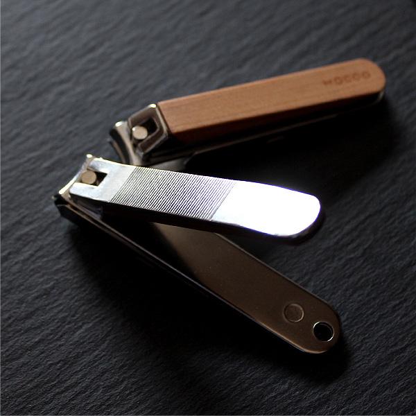 「Nail Clippers」手に持つたびに温もりを感じる木製爪切り・ツメキリ/北欧風デザイン