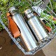 ■「THERMO BOTTLE 600ml」ステンレス素材に銘木をプラスした木製水筒・サーモボトル・タンブラー/インスタグラム人気モデル・コーディネーターも愛用