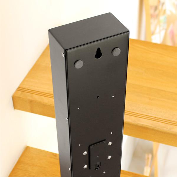 ■「FLIP CLOCK WALL TYPE」木製振り子とパタパタめくれるフリップがおしゃれな壁掛けフリップ時計