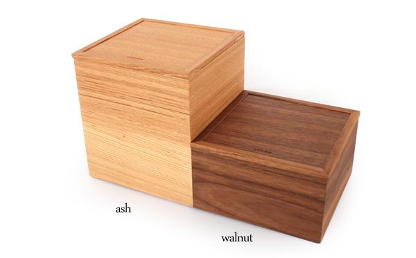 【2段】「Ju-Baco」木でできたモダンな重箱/北欧風デザイン