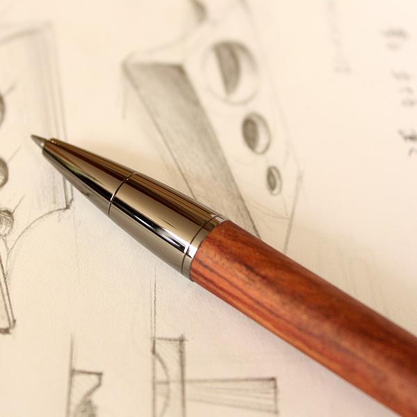 ■「LEAD PENCIL 2mm」大人の鉛筆、高級木材の芯ホルダー【名入れ可能】 えんぴつ/クラッチペンシル