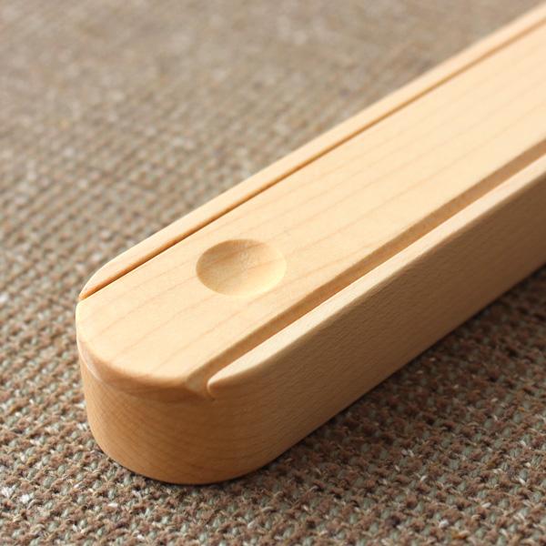 【名入れ可能】「Hashi no haco」木製の箸ケース・箸箱(はし23センチ用)