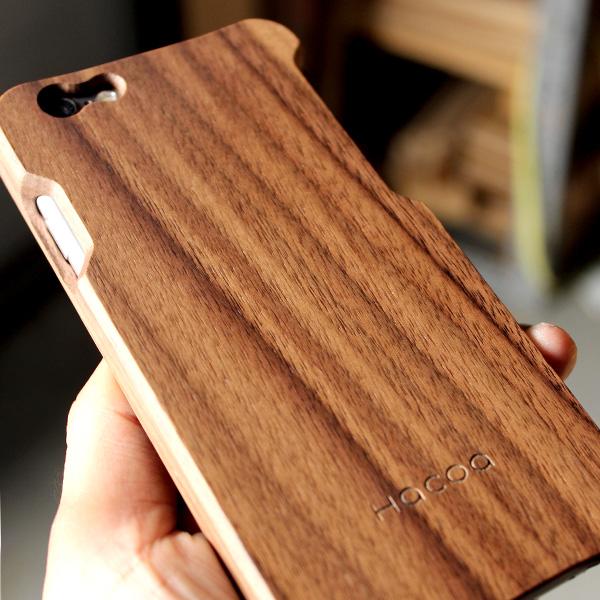 【生産終了】【ネット限定】【6/6s】【ICカードエラー防止シート付】木製iPhoneケース「Wood case for iPhone6/6s With IC-Pass」