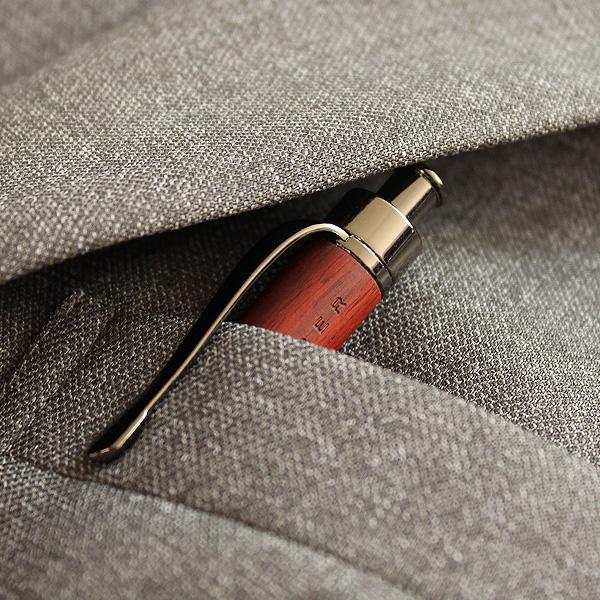 ■【プレミアム】「LEAD PENCIL 2mm(黒檀)」大人の鉛筆、高級木材の芯ホルダー【名入れ可能】