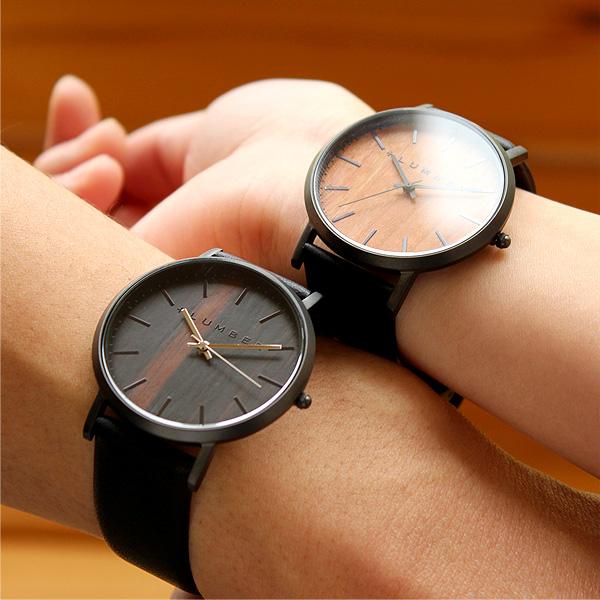 ■「WATCH 1100」文字盤に本木目を使用した美しいシンプルな腕時計/メンズ/レディース