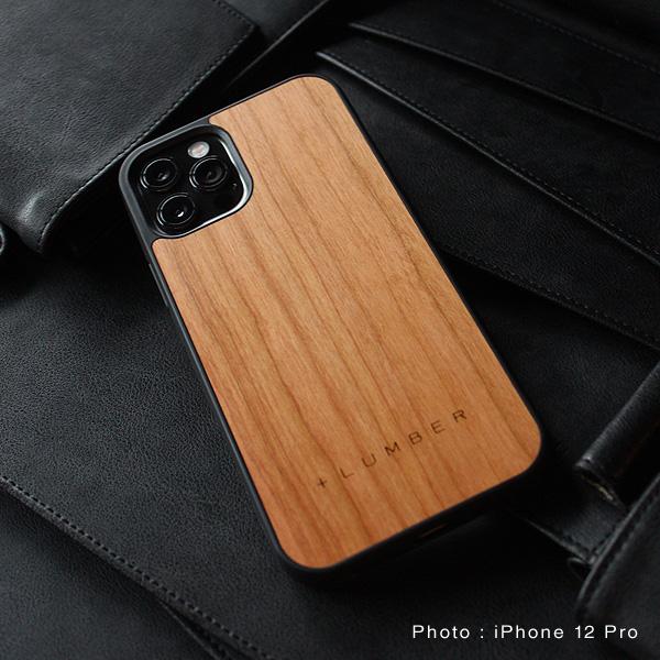 【12/12Pro】【プレミアム】「iPhone 12/12Pro ALL-AROUND CASE(黒檀)」ハードケースと木をプラス、iPhone12/12プロ専用木製ケース【6.1インチ】