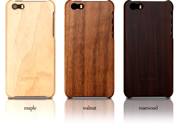 【生産終了】【SE/5s/5】【ICカードエラー防止シート付】 木製iPhoneケース 「Wood case for iPhone SE/5s/5 With IC-Pass」