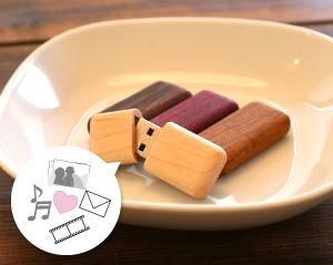 【16GB】木製USBメモリ「Tablet(タブレット)」名入れしてプレゼントに!おもしろくてかわいい木製USBフラッシュメモリ