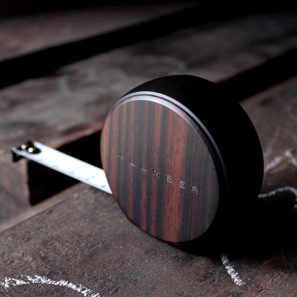 ■「MEASURE 3.5M」木製メジャー・巻尺/+LUMBER ブランド