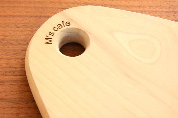 「Drop」無垢材の木製まな板・カッティングボード/北欧風デザイン