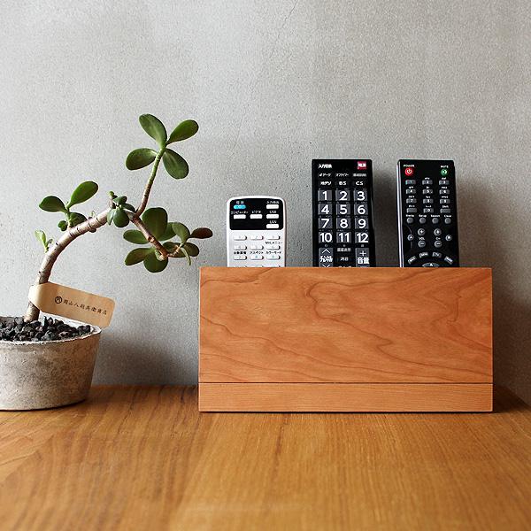 「Remote control Stand」おしゃれな木製リモコンラック・ホルダー、収納サイズが変更可能なリモコンスタンド