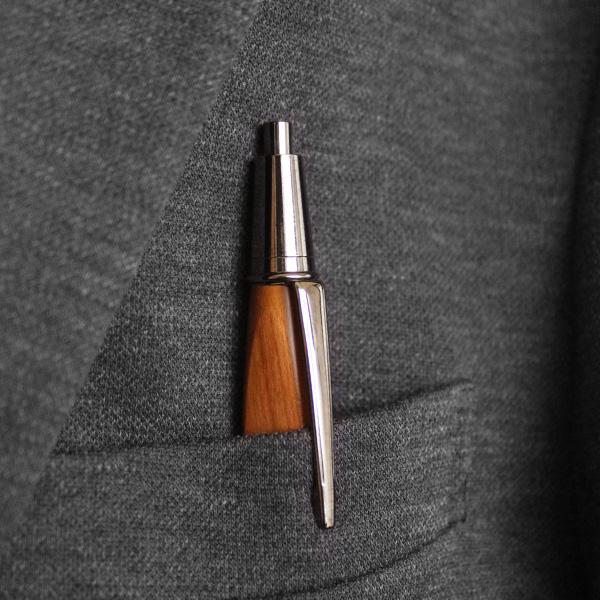 ■「TRIANGLE BODY MECHANICAL PENCIL」銘木をプラスしたシャーペン・シャープペンシル【名入れ可能】