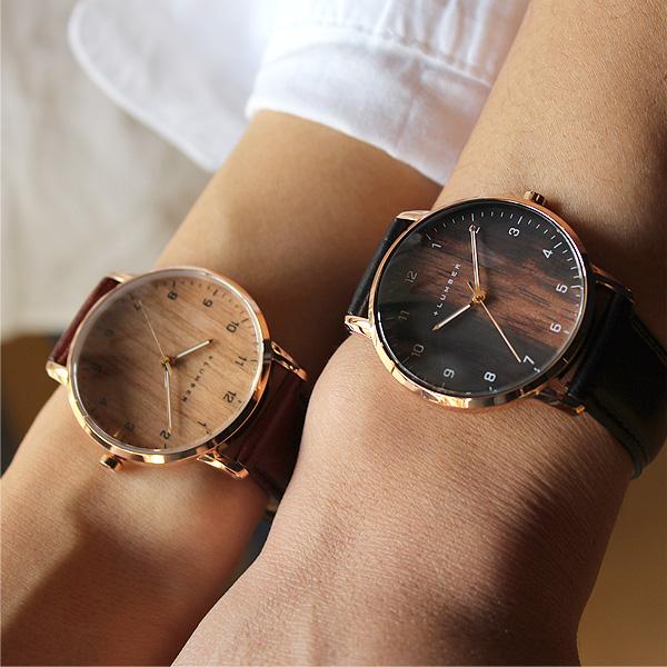 ■「WATCH 8800」文字盤に本木目を使用した曲面ガラスが美しい木製腕時計/メンズ/レディース