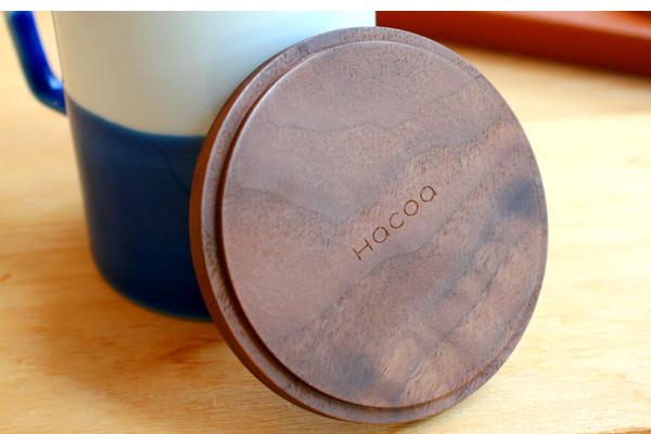「Coaster -Round-」天然無垢材を使用した贅沢な木製コースター/北欧風デザイン