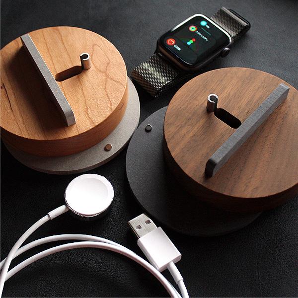 ループタイプにおすすめ「Apple Watch Charging Dock-Stand」アップルウォッチ用充電スタンド・クレードル・ベースステーションドック