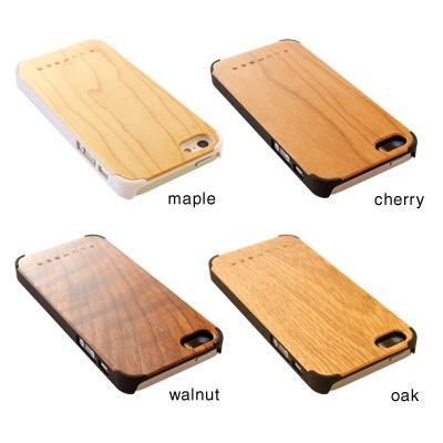 【生産終了】【+LUMBER】【iPhoneSE/5s/5対応】丈夫なハードケースと天然木を融合したiPhone SE/5s/5専用木製ケース「iPHONE CASE SE/5s/5」