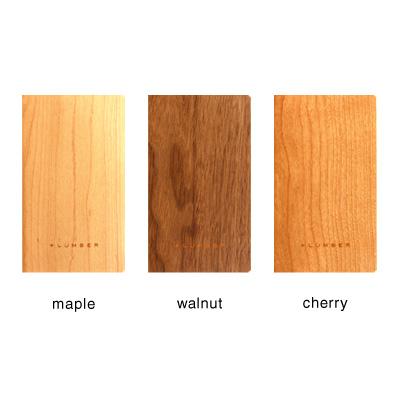 ■「NOTEBOOK MINI」天然木の表紙がおしゃれなノート・メモ帳