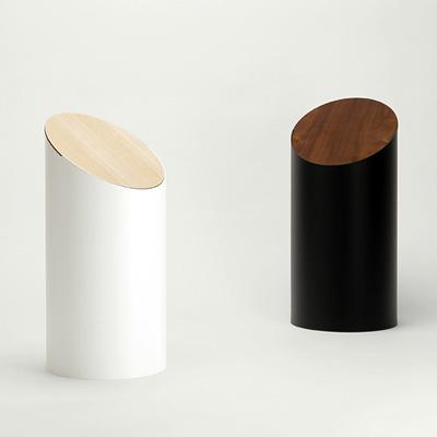 「SWING BIN」ふた付きのおしゃれなゴミ箱、シンプルの限界が生み出す洗練された世界一美しいダストボックス/MOHEIMブランド