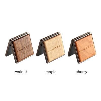 【生産終了】■【+LUMBER】木製カードスタンド「CARD STAND」