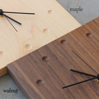 【送料無料】「WallClock Square」おしゃれな壁掛け・置き時計。結婚式・ブライダル・両親へのプレゼントに【直営店なら即日名入れOK!】