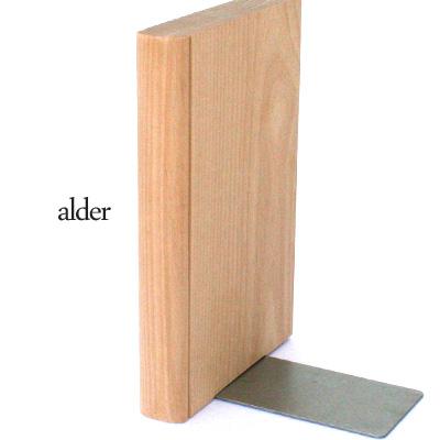 【生産終了】【ネット限定】シルエットが美しいおしゃれな無垢材の卓上ブックスタンド・ブックエンド Hacoa「Bookend」北欧風デザイン