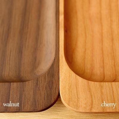 「CashTray」重厚感漂う木製キャッシュトレイ・コイントレー/Hacoaブランド/北欧風デザイン